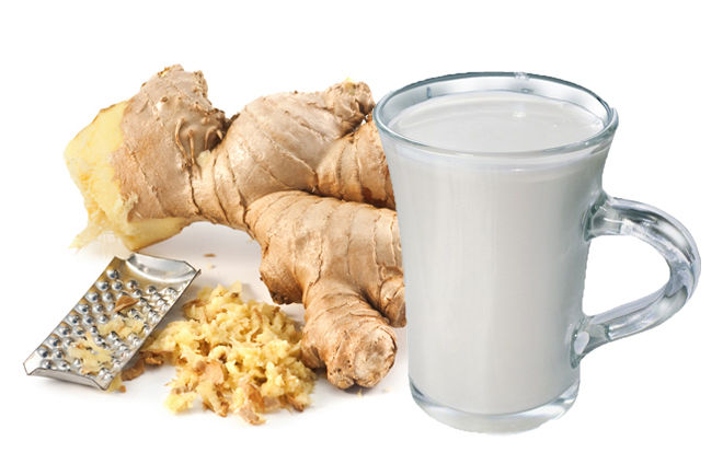 имбирь с молоком