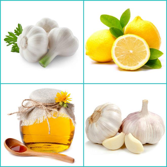 лимон с чесноком и мёдом