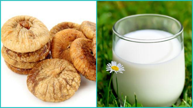 Молоко и инжир