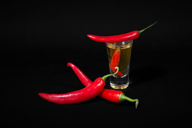 Перец и водка