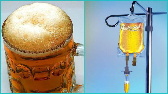 Пиво от простуды