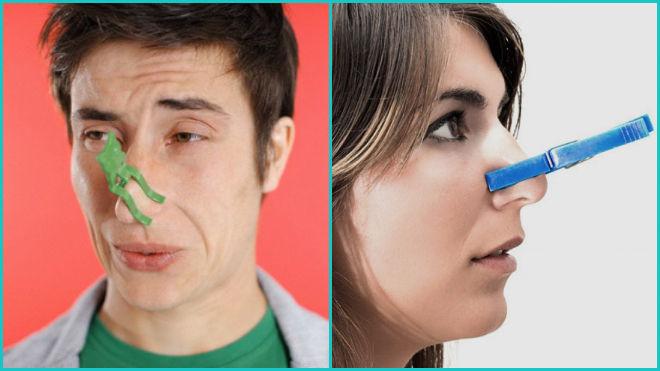 Почему заложен нос