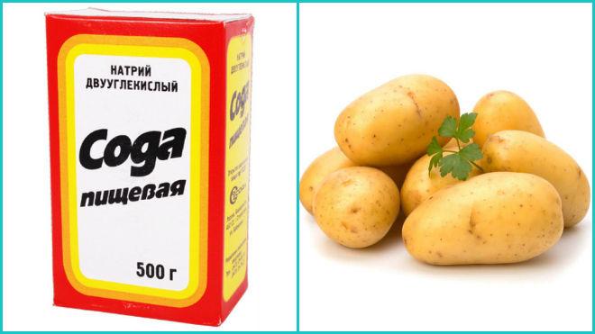 Сода и картофель