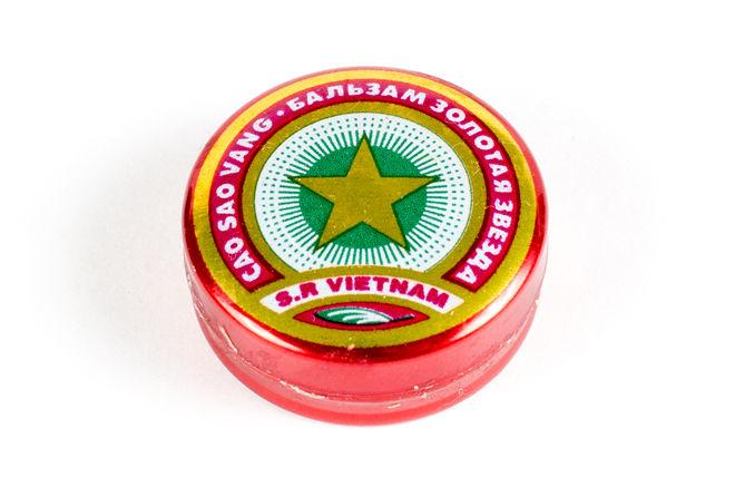 Бальзам Золотая Звезда. Вьетнам