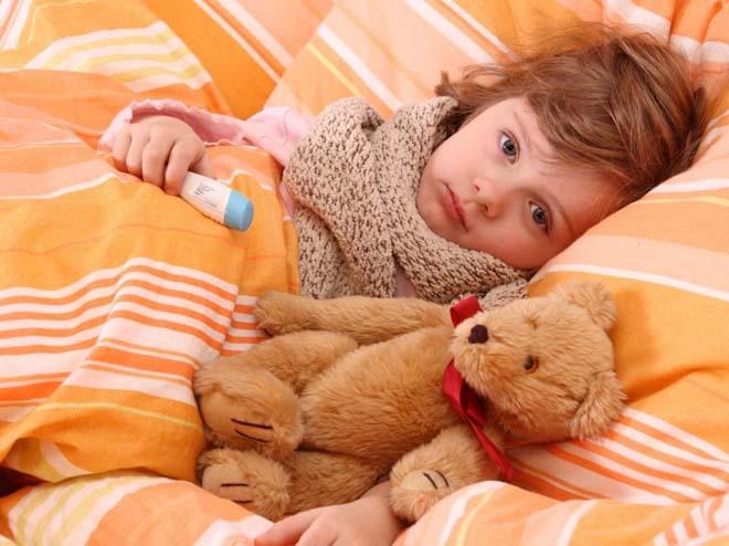 дети болеют гриппом