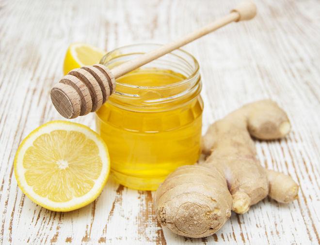 имбирь мед лемон