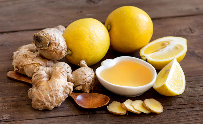 мед имбирь лемон