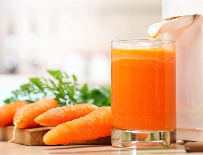 сок моркови от простуды