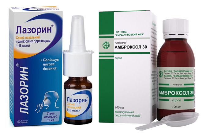 лекарство от горла и насморка