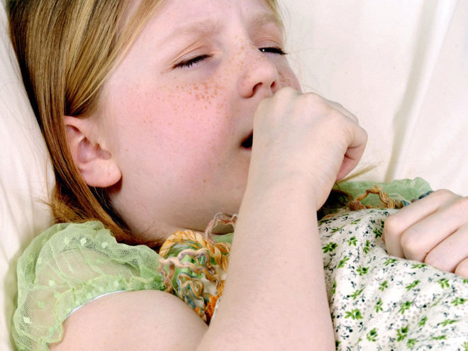 мокрота у детей