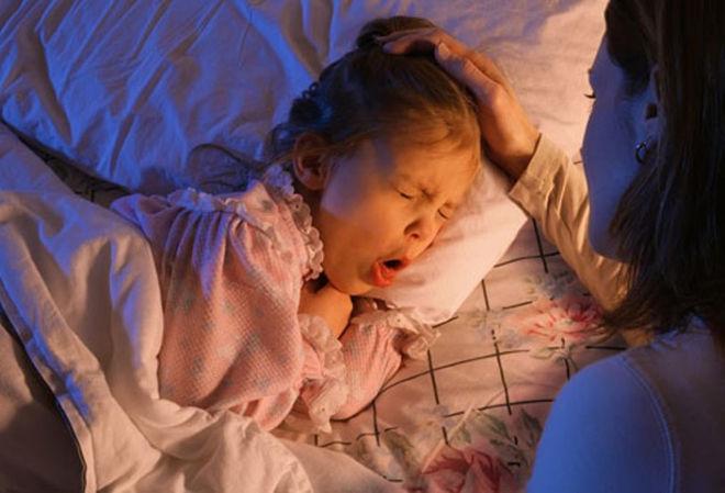 У ребенка коклюшный кашель