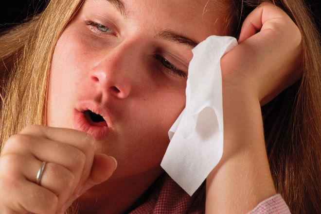 После пневмонии держится кашель