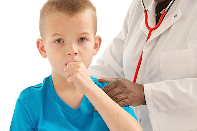 У ребенка после пневмонии кашель