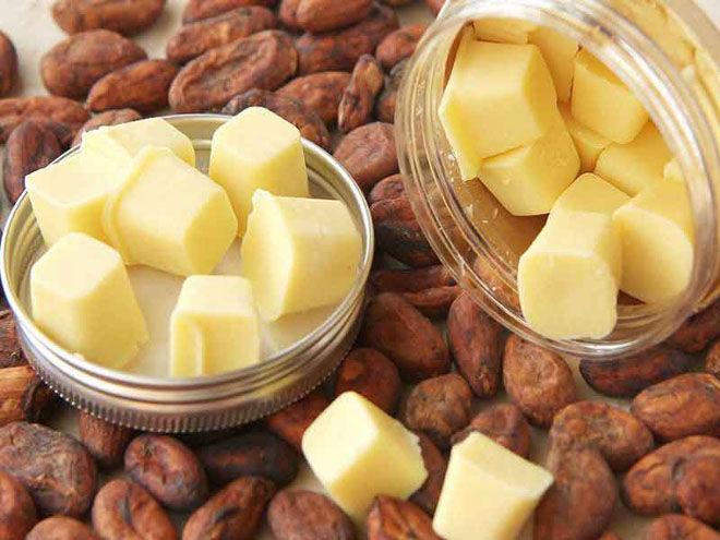 Какао масло и какао бобы