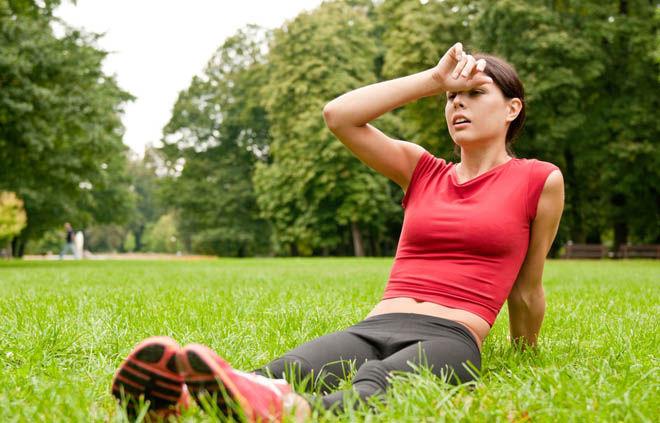 При занятиях спортом начинается кашель