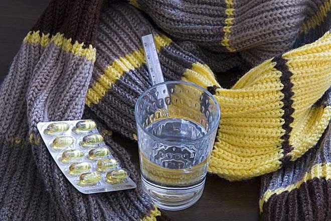 Теплая одежда против простуды