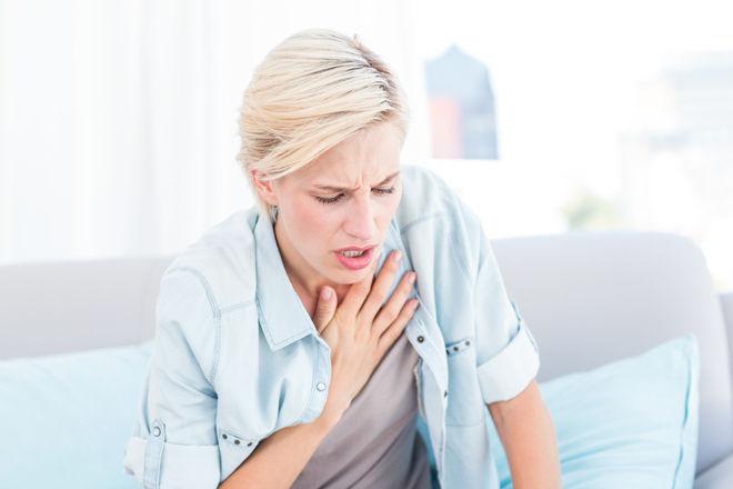 Тяжело дышать и кашель