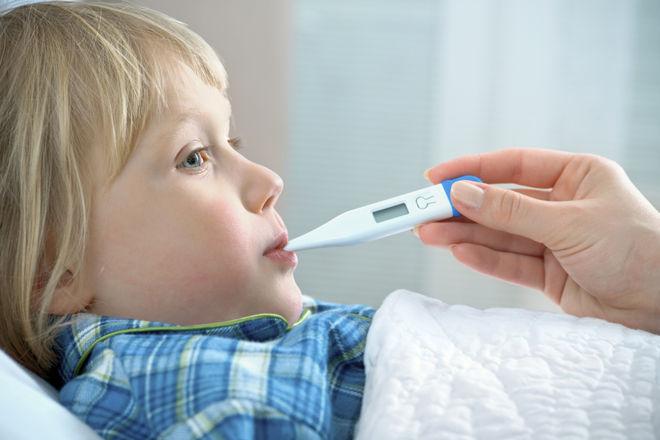 Меряем температуру ребенка