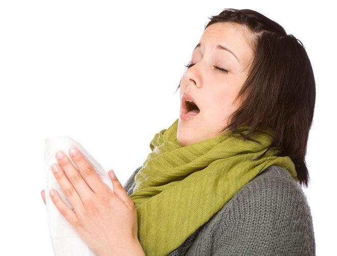 Простуда и чихание