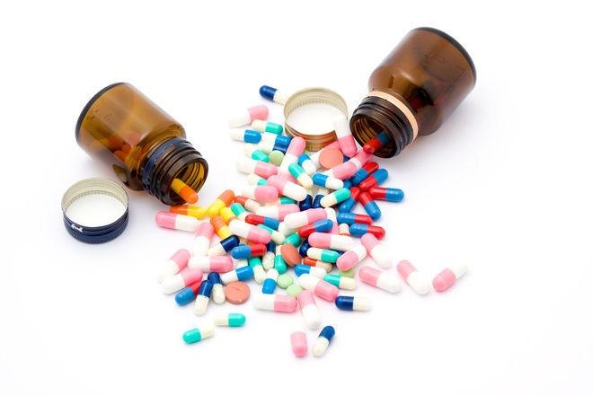 Рассыпаны таблетки