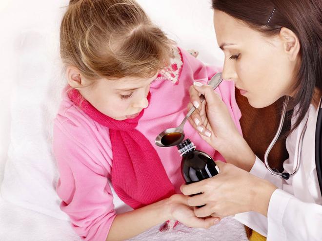 сироп от кашля детский