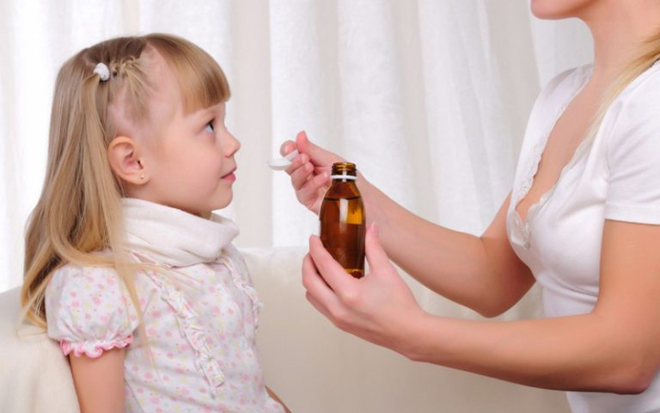 Сироп ребенку от кашля