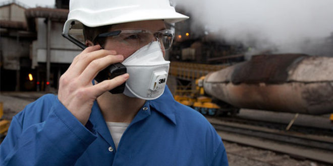 защита носа на производстве