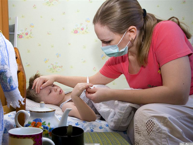 Проверка температуры у ребенка