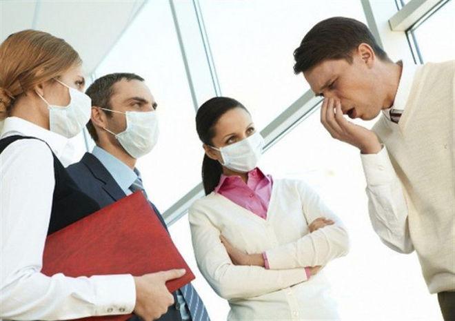 Необходима изоляция больного