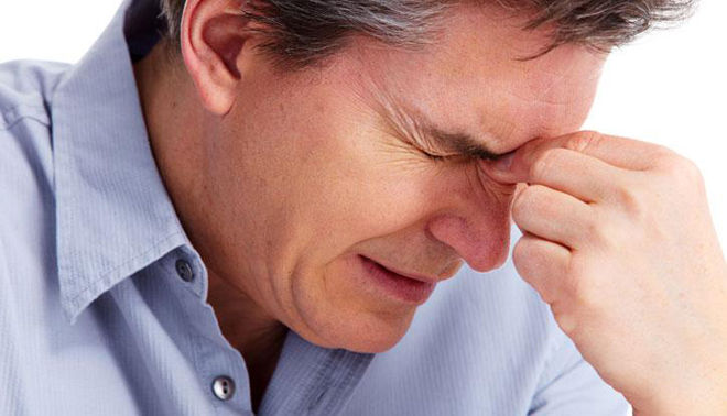 Боль головная при гайморите