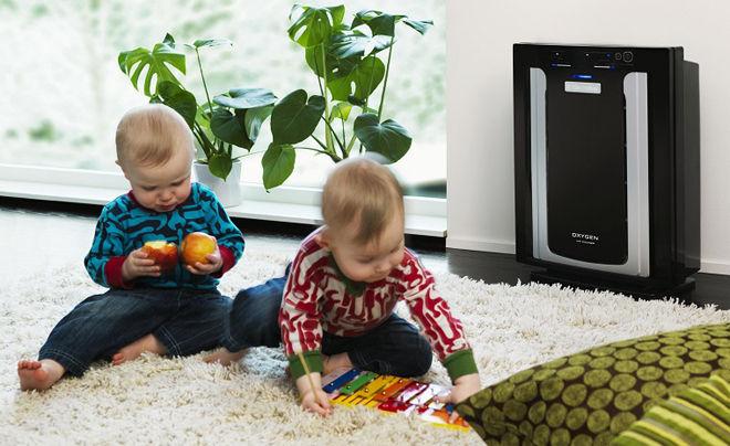 В детской комнате чистый воздух