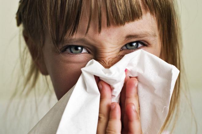 Насморк во время простуды