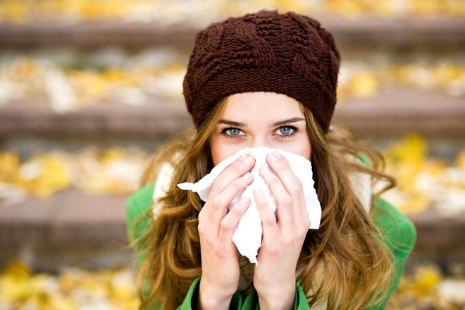 На улице можно простудиться