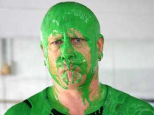 Насморк зеленый