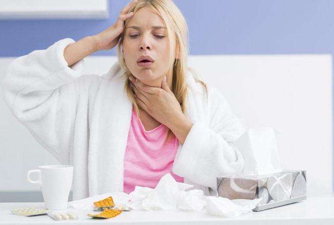 Кашель во время болезни