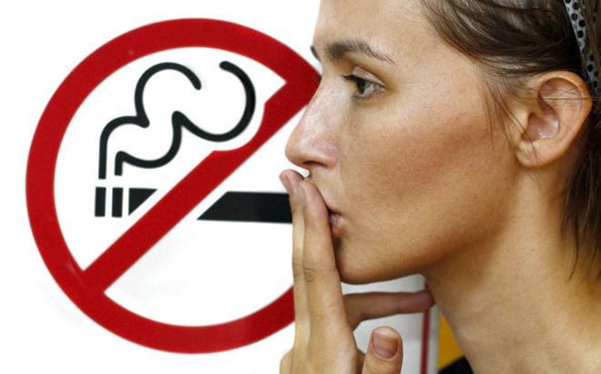 Прекратите курить если у вас кашель