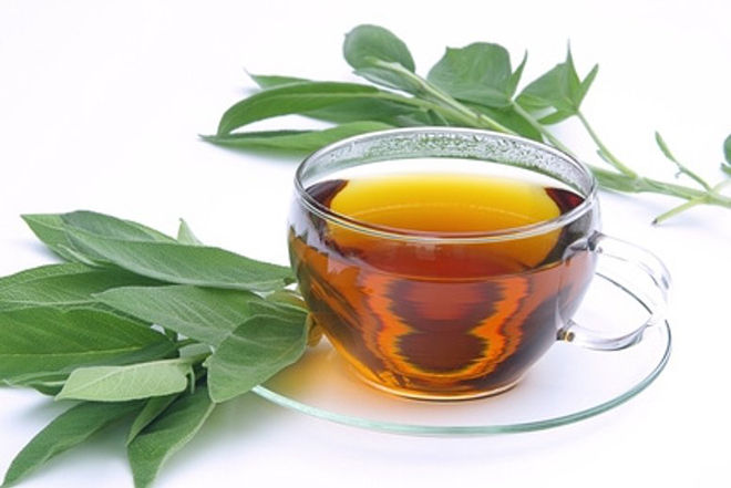 Чай из шалфея от кашля
