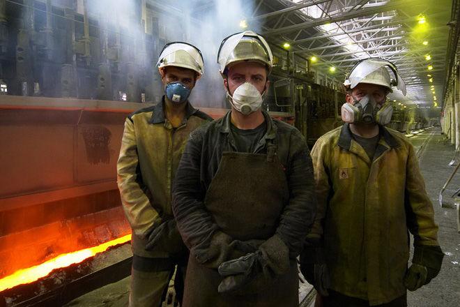 Защита лёгких на заводе