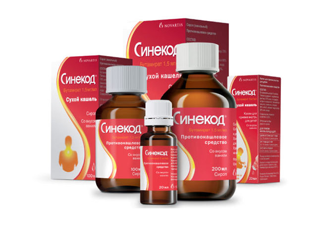 Синекод - лекарство от кашля
