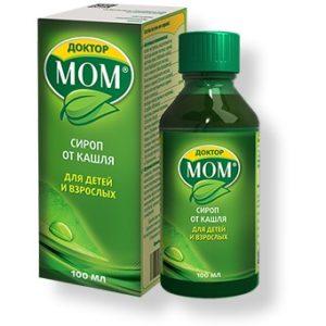 Доктор Мом – популярное отхаркивающее средство для детей и взрослых