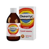 Эффективное лечение кашля с применением сиропа или таблеток Омнитус