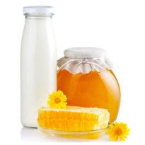 Эффективное лечение простуды медом и молоком