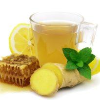 В сезон простуд поможет лимон, имбирь и мед