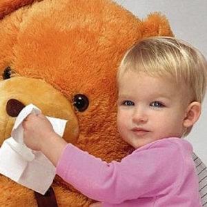 Лечим сухой ринит у детей