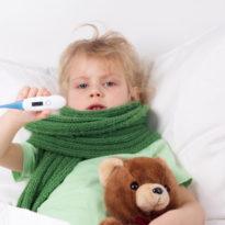 Сколько дней может держаться температура при вирусной инфекции у ребенка?