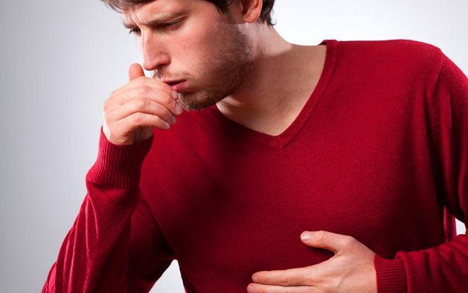 кашель у взрослых сухой