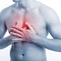 Боль в грудной клетке при кашле: почему болит в груди и больно кашлять