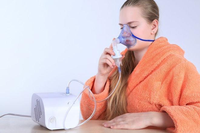 Дыхание небулайзером