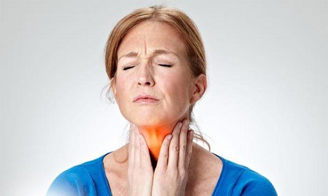 Болит горло без кашля
