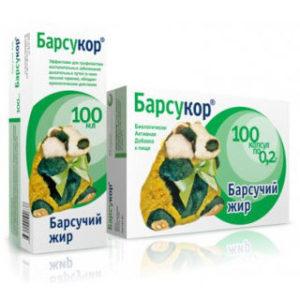Барсучий жир: применение при бронхите и кашле